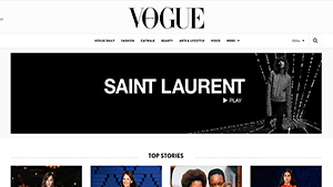British Vogue - Best Website for Fashion and Beauty
