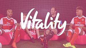 "Vitality ""Meet the Legends"" series"