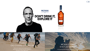 METAXA 12 Stars DON'T DRINK IT, EXPLORE IT