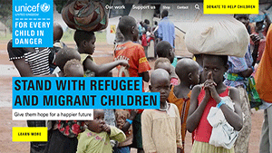 Transforming Unicef's brand story into a user-centred, emotionally engaging digital experience