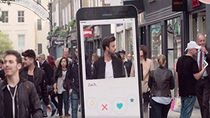Tinder in real life!?
