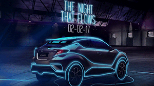 Toyota: The Night That Flows - Influencer Campaign with Snapchat Spectacles