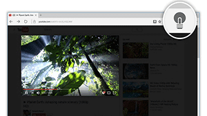 Turn Off the Lights Browser Extension for YouTube and Beyond